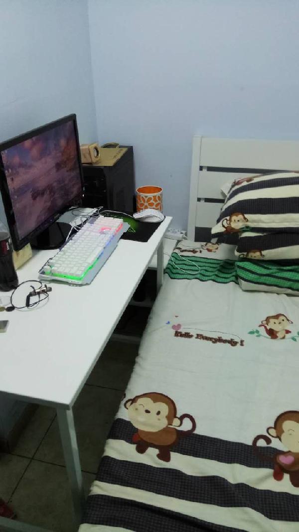 【合租】梅花山庄中沁苑4室1厅次卧